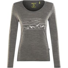 Meru W's Glomma LS Shirt Anthracite